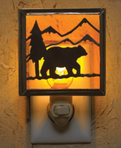 25-003 – Lodge Bear Night Light