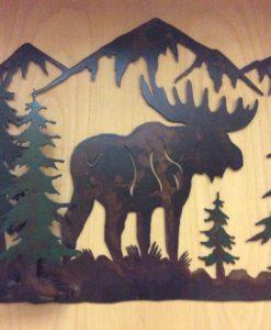 2'x17 Moose Scene