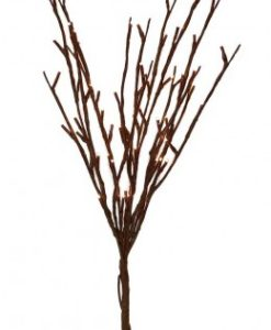 60 Light Willow Branch with Warm White