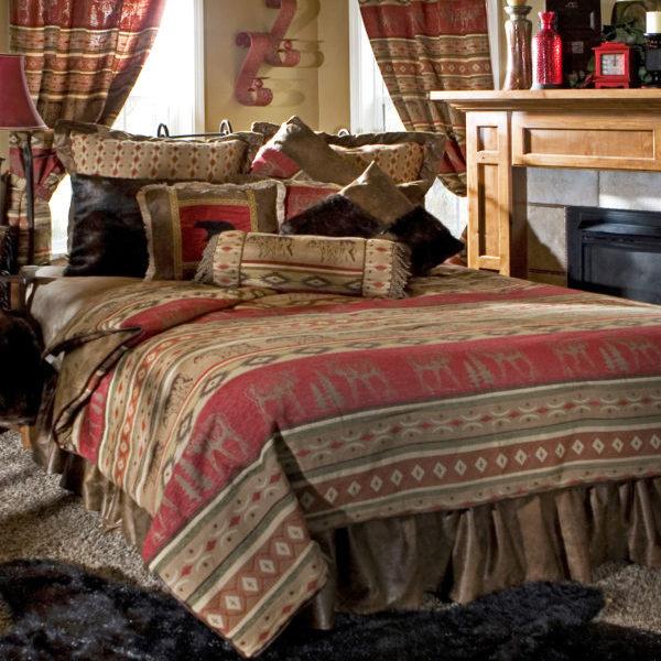 Twin Bedding Set Mountains
