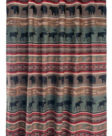 Backwoods Shower Curtain-JB61281-521×630