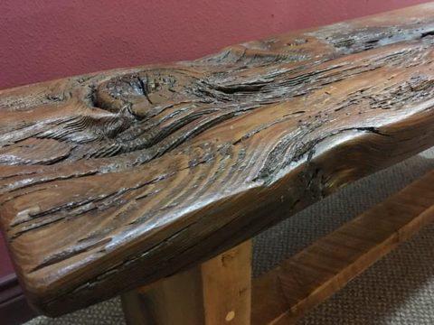 Barnood bench