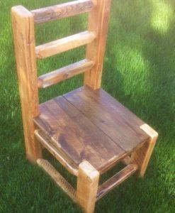 Barnwood Chair – horizontal back