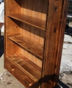 Barnwood Chair – horizontal back 3