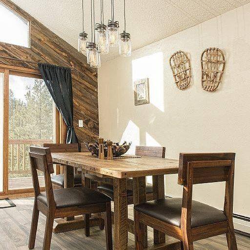 Barnwood Plank Kitchen Table2