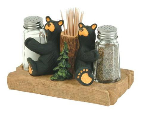 Bear Salt & Pepper Set