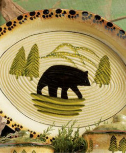 Bear Serving Platter