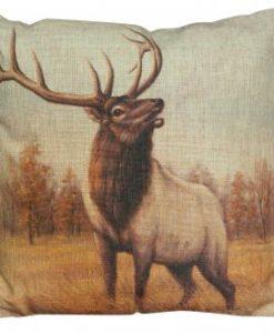 Bearded Elk Pillow – w130022_3