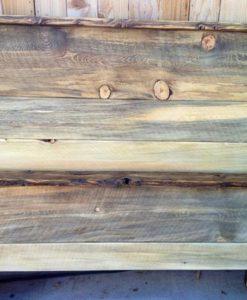 Beetle Kill Pine Plank Bed