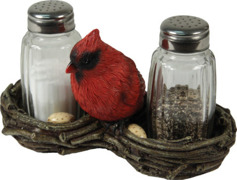 Cardinal in nest S&P