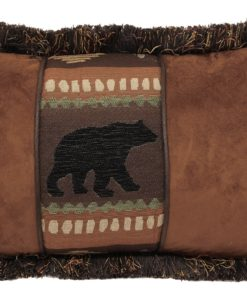 Bear Chestnut Oblong Pillow