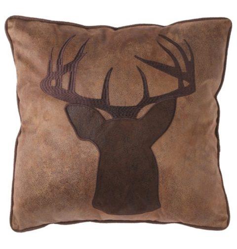 JB61561-Applique Buck Pillow-600×630