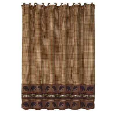 LG1905SC-OS-BE-Bayfield Moose Shower Curtain