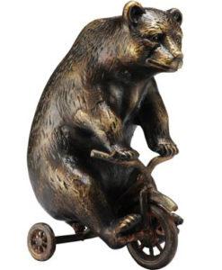 Metal Bear Paperweight