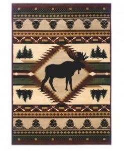 Moose Wilderness Rug 51225559