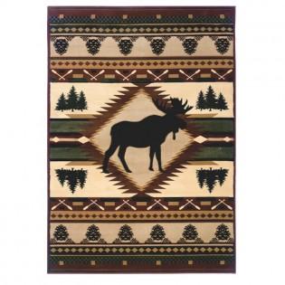 Moose Wilderness Rug 51225559