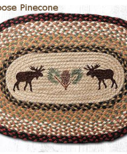 OP-019MP_large_Moose_Pinecone Oval patch Rug