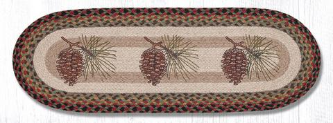 OP-081_large_Pinecone Oval Patch Runner