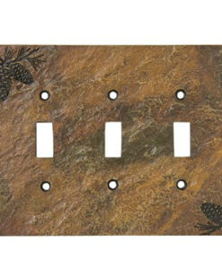 Pine Triple Plate Cover