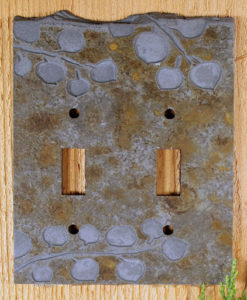Slate Switch Plate Aspen Collection