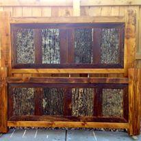 Rustic Trim bark bed