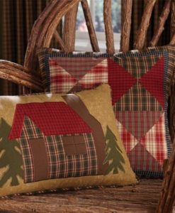 Cabin In The Woods Rectangle Pillow